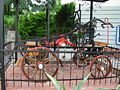 Historical fire engine - Gieraltowice 01.JPG
