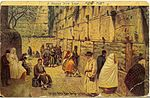 Historical images of the Western Wall-1911.jpg