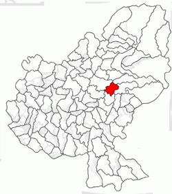 Location of Hodoșa