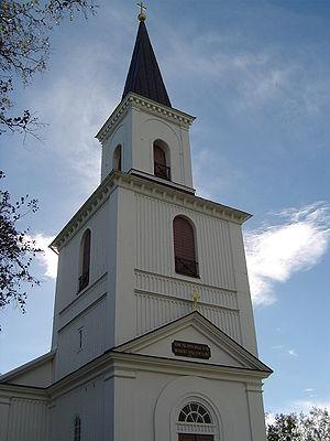 Holmsund - Image: Holmsund Kyrka (Church)