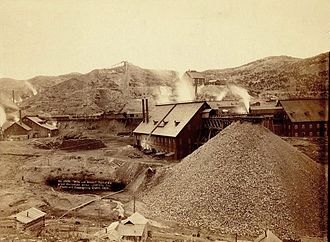 Homestake Mine (South Dakota) - The Homestake Mine in 1889