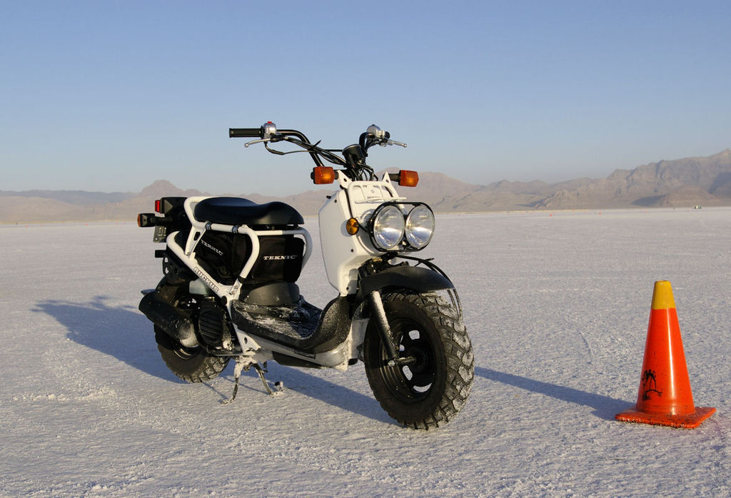 how to build a honda ruckus from scratch