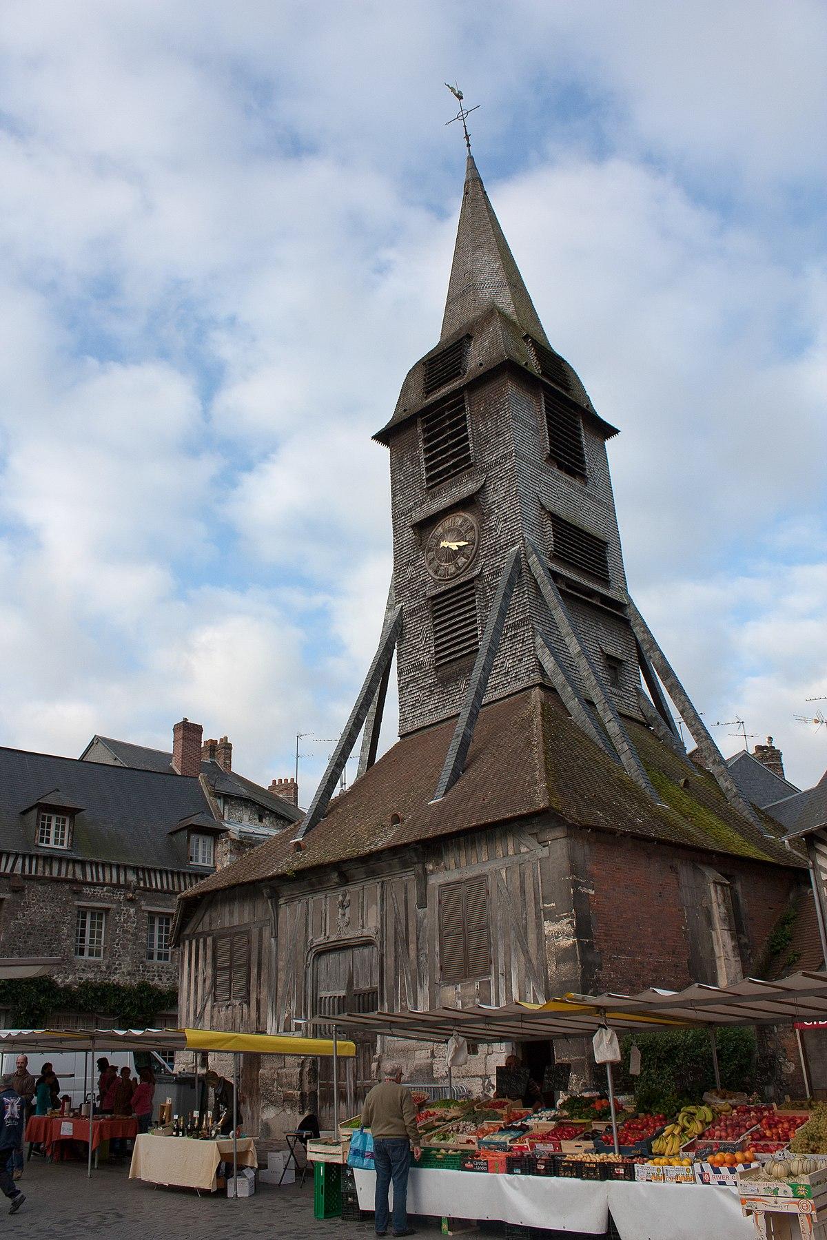 Narbonne Version 3 1: File:Honfleur-Clocher De L'église Sainte Catherine