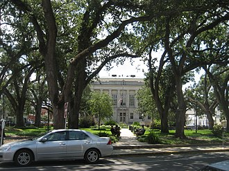 Houma, Louisiana - Terrebonne Parish Courthouse at Houma