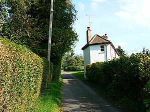Little Down - Image: House in Littledown, Hampshire geograph.org.uk 982449