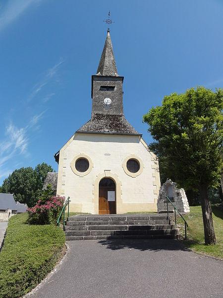 Housset (Aisne) église