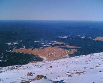 Hovden, Nordland - From Malnesberget 529 meters above sea level