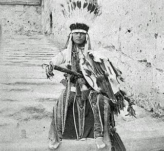 Howling Wolf (Cheyenne) Native American painter