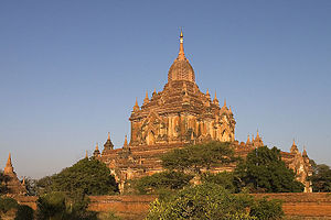 Htilominlo Temple - The Htilominlo Temple at the Bagan Archaeological Site