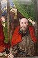 Hugo van der Goes, adorazione dei pastori tra due profeti, 1480 ca. 19.JPG