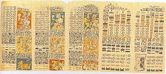 Dresden Codex - Image: Humboldt 1810 pp 47 48 50 51 52