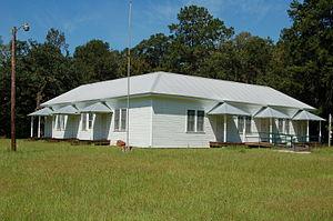 Albany, Louisiana - Hungarian Settlement School in Albany