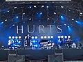 Hurts at Pori Jazz 2014.jpg