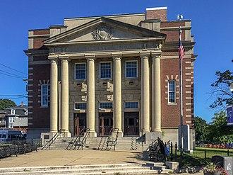 Hyde Park, Boston - The former Hyde Park Municipal Building, 1179 River Street