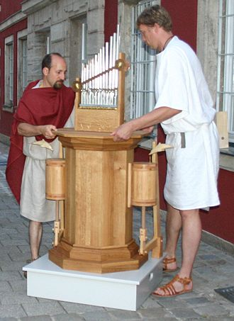 Water organ - Reconstruction of hydraulic organ