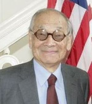 Asian Americans in arts and entertainment - I. M. Pei, world-renowned architect