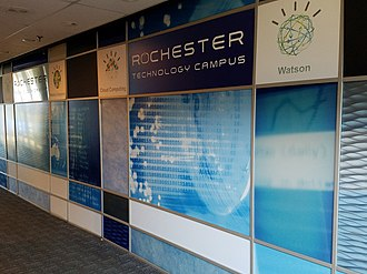 IBM Rochester - The name of the site recently changed to the Rochester Technology Campus.