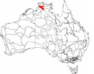 Pine Creek (biogeographic region) Region in the Northern Territory, Australia