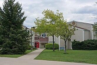 Illinois Mathematics and Science Academy - Residence halls on campus