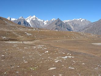 Blick vom Rohtang-Pass Richtung Nordosten (Central Lahul Massif)