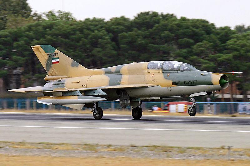 File:IRIAF MiG-21 landing.jpg