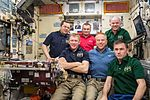 ISS-47 crew poses for the 3 millionth image taken aboard the ISS.jpg