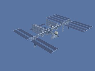 STS-123 - JEM Kibo ELM-PS and DEXTR on ISS after STS-123