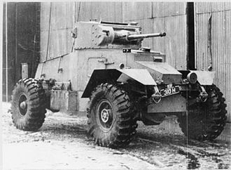 AEC Armoured Car - AEC Mk I Armoured Car.