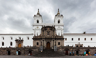 Church and Convent of St. Francis, Quito - Church and Plaza de San Francisco