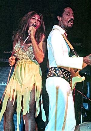 Tina Turner - Turner performing with Ike Turner at Hamburg, Germany, in 1972.
