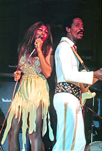 Tina Turner - Turner performing with Ike Turner at Hamburg, Germany, in 1972.