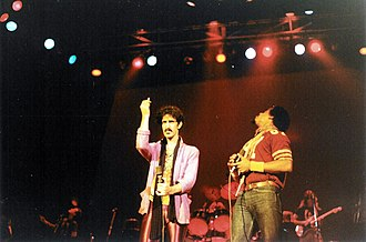 Ike Willis - Willis and Zappa in 1980