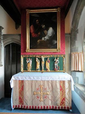 Ilford Hospital Chapel - Image: Ilford hospital chapel lady chapel