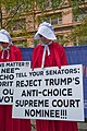 Illinois Handmaids Speak Out Stop Brett Kavanaugh Rally Downtown Chicago Illinois 8-26-18 3532 (30446030518).jpg