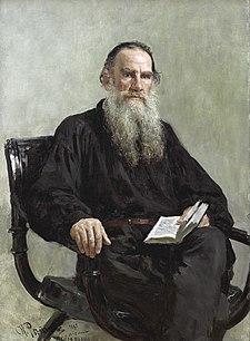 Ilya Efimovich Repin (1844-1930) - Portrait of Leo Tolstoy (1887).jpg