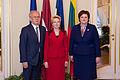 Ināra Mūrniece tiekas ar Igaunijas un Lietuvas parlamentu priekšsēdētājiem (16229453632).jpg
