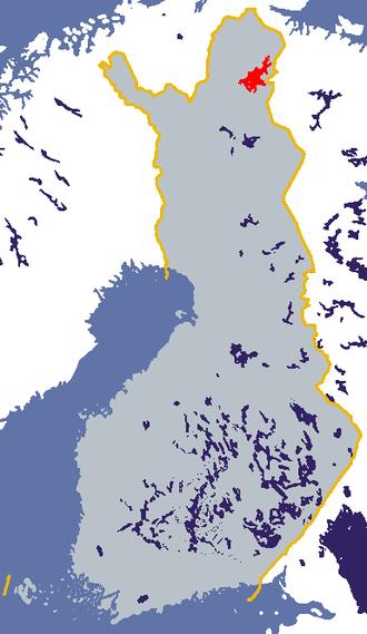 Lake Inari - Image: Inarijärvi
