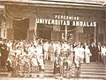 Inauguration of Andalas University.jpg