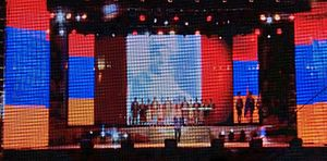 Independence Day (Armenia) - Image: Independence Day Celebrations in Armenia (2014) 1