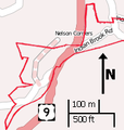 Indian Brook Road Historic District map.png