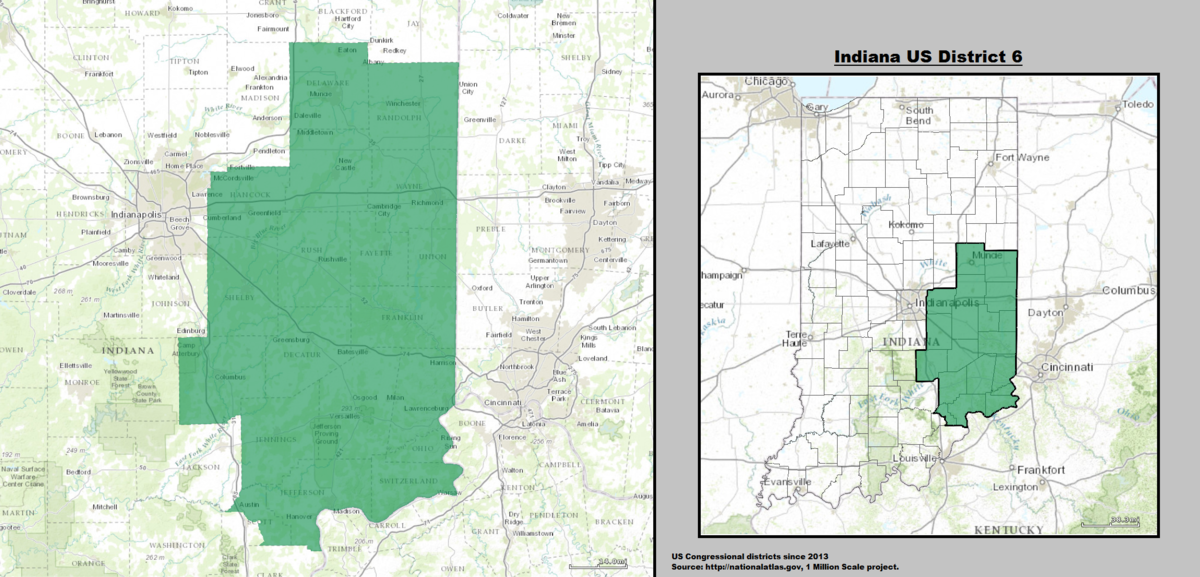 Indiana\'s 6th congressional district - Wikipedia