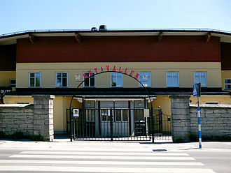 FC Gute - Entrance to Gutavallen, Visby