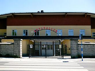 FC Gute - Entrance to Gutavallen, Visby