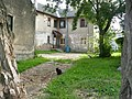 Inner yard with fat Bauska's cats. July, 2009 - panoramio.jpg