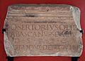 Inscripció romana QUINTUS SERTORIUS, museu de Belles Arts de València.JPG
