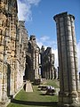 Inside the Whitby Abbey Ruins - panoramio.jpg