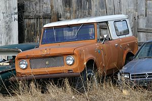 International Harvester Scout - 4x4 Scout 80 with removable Traveltop