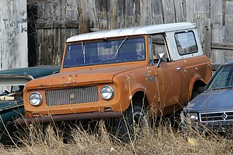 International Harvester Scout - A 4x4 Scout 80 with removable Traveltop