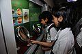 Iris - Exhibit with Schoolgirls - MSE Golden Jubilee Celebration - Kolkata 2015-11-18 5412.JPG