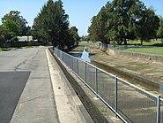 Iron Cove Creek beside Henley Marine Drive, Five Dock